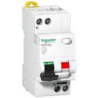 Дифавтомат Schneider Electric Acti9 2P 10А (C) 6кА 30мА (AC)