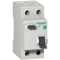 Дифавтомат Schneider Electric Easy9 2P 16А (C) 4.5кА 30мА (AC)